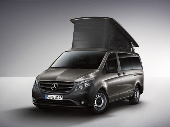 Mercedes-Benz Guides app for Marco Polo ACTIVITY