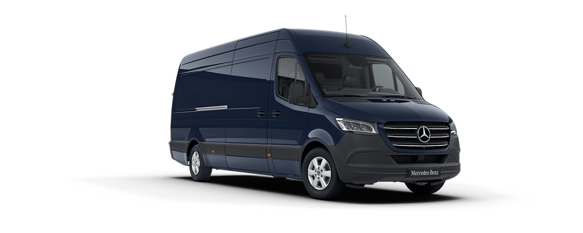 Sprinter Panel Van, steel blue
