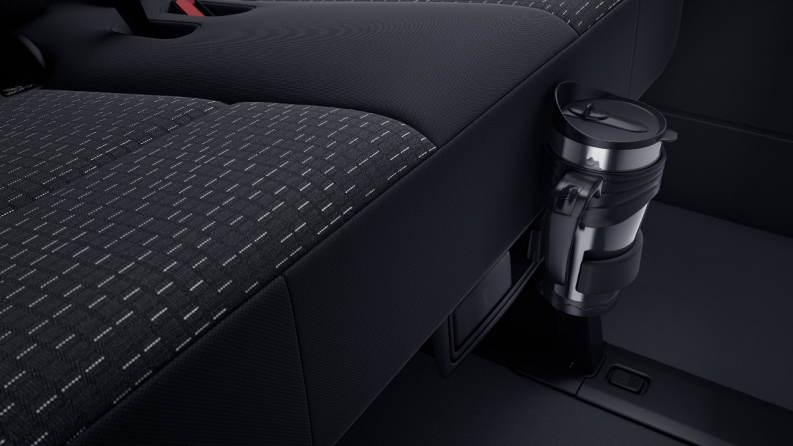 Sprinter Tourer, cup holders in passenger compartment