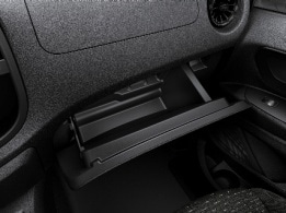 Vito Mixto, lockable glove compartment